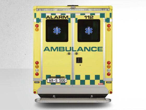 Emergency ambulance / type C / box body 4,6 T Wietmarscher Ambulanz- und Sonderfahrzeug GmbH