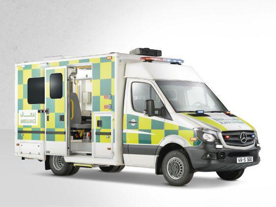 Intensive care ambulance / emergency / type C / box body 5 T Wietmarscher Ambulanz- und Sonderfahrzeug GmbH