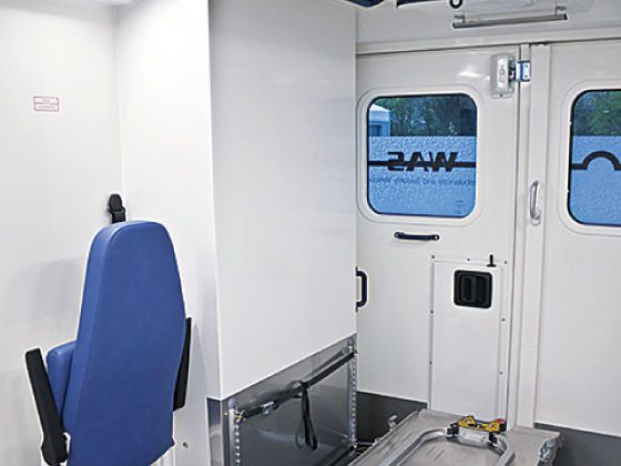 Emergency ambulance / type C / box body 4.2 T Wietmarscher Ambulanz- und Sonderfahrzeug GmbH