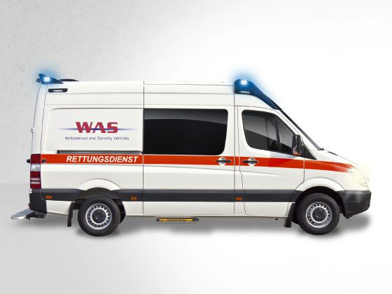 Emergency ambulance / type C / box body Wietmarscher Ambulanz- und Sonderfahrzeug GmbH