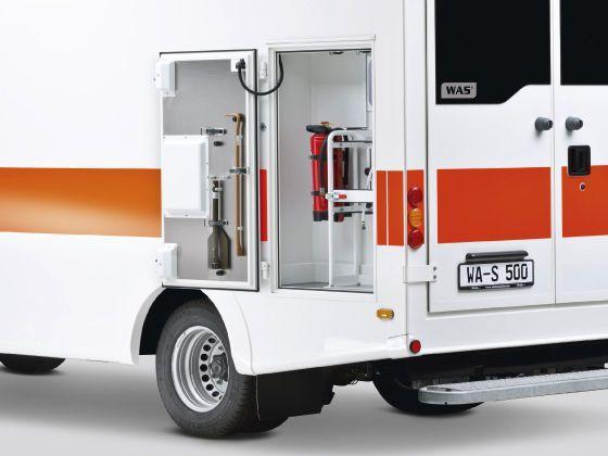 Emergency ambulance 5 T   Wietmarscher Ambulanz- und Sonderfahrzeug GmbH