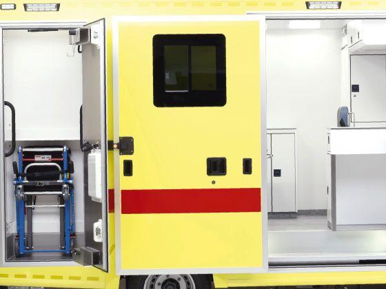 Emergency ambulance / type C / box body 4,6 T   Mercedes-Benz Sprinter Wietmarscher Ambulanz- und Sonderfahrzeug GmbH