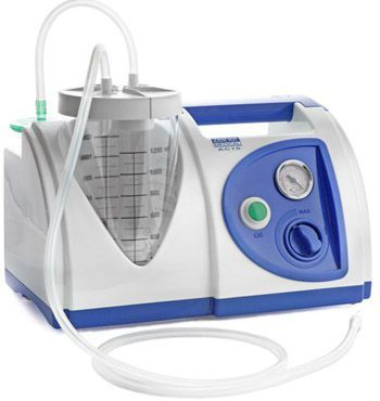 Electric surgical suction pump / handheld 15 L/mn - AC15 Zeiner Medical