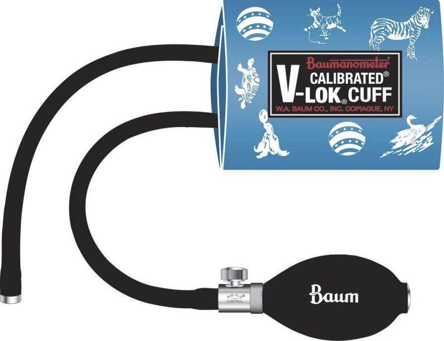 Pneumatic cuff Decorated Calibrated® V-Lok® Series W.A. Baum