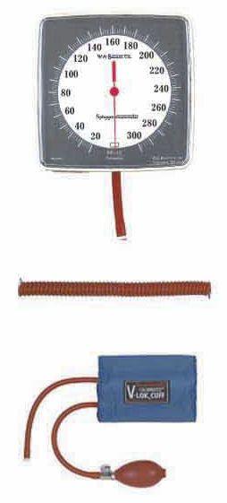 Dial sphygmomanometer / wall-mounted Baum Wall Series W.A. Baum