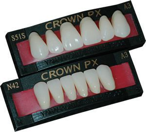 Resin dental prosthesis CROWN PX ANTERIOR YAMAHACHI DENTAL MFG., CO.