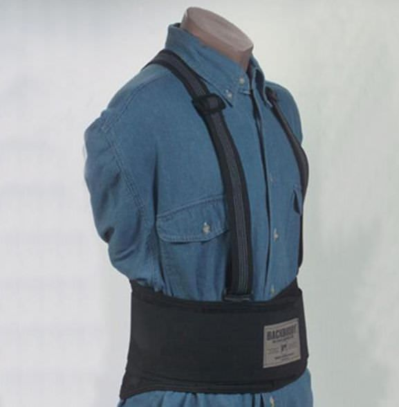 Lumbar support belt / with suspenders WNL Products