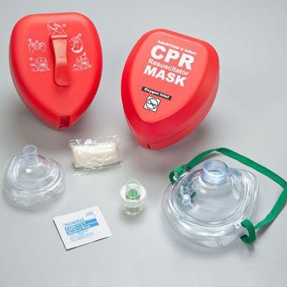 Resuscitation mask / facial / plastic / pediatric FAK5000GI-RED WNL Products