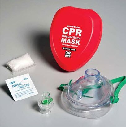 Resuscitation mask / facial / pediatric FAK5000G-RED WNL Products