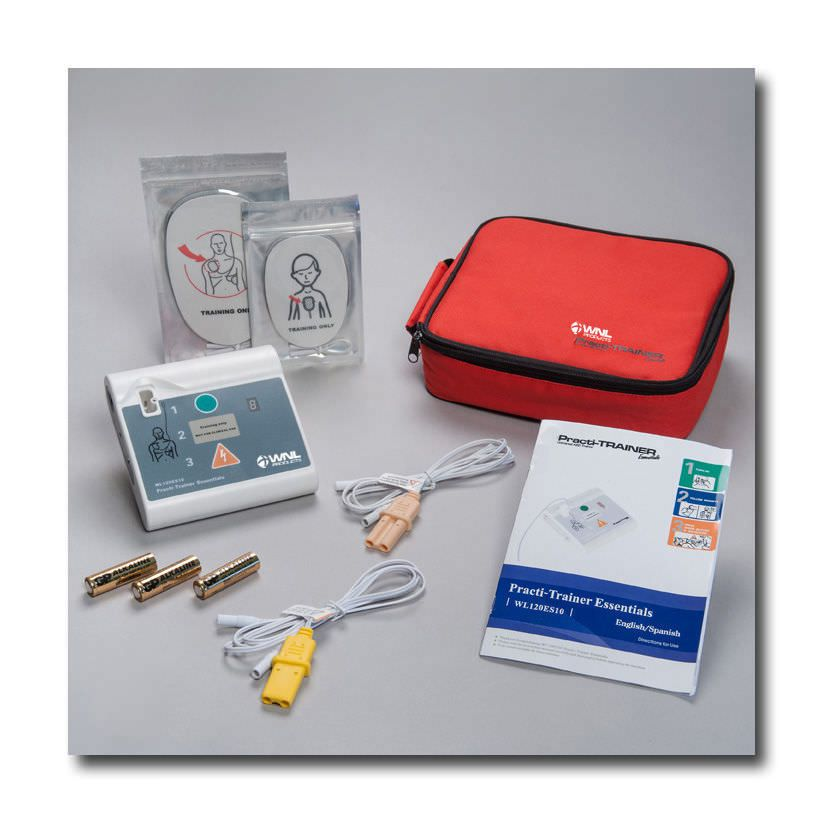 Automatic external defibrillator / training AED Practi-TRAINER Essentials® WNL Products