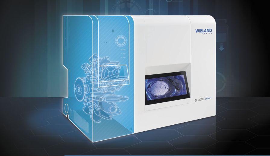 CAD/CAM milling machine / desk / 5-axis Zenotec select Wieland Dental + Technik GmbH & Co. KG
