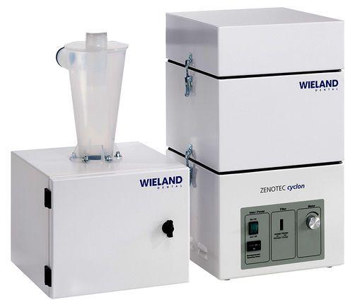 Dental laboratory dust suction unit Zenotec cyclon Wieland Dental + Technik GmbH & Co. KG