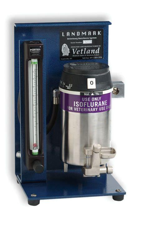 Veterinary anesthesia system / portable Landmark RTA-0011 Vetland Medical
