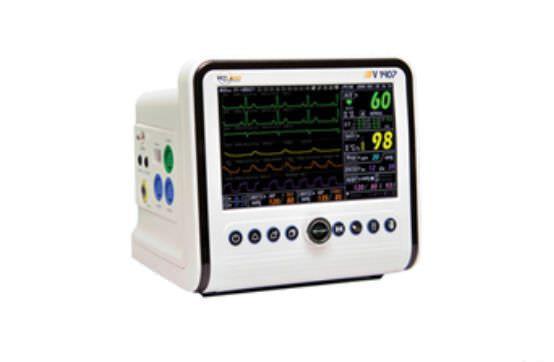 NIBP multi-parameter monitor / RESP / ECG / compact V1407 Vetland Medical