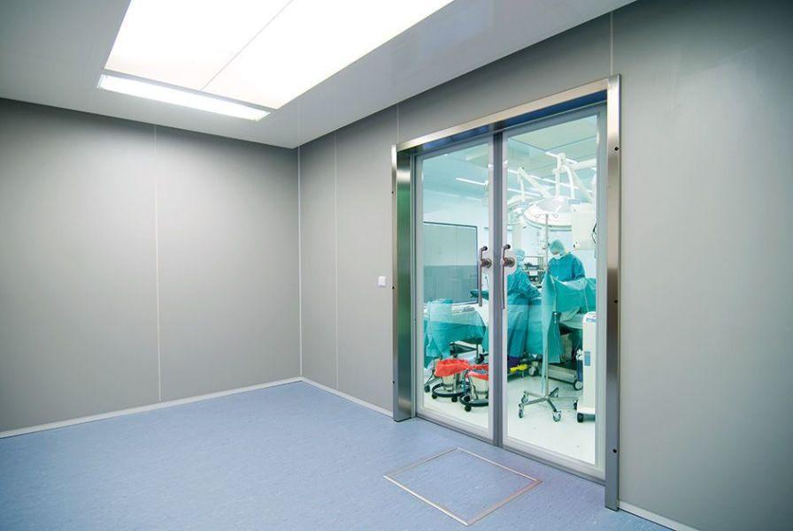 Swinging door Vitec Cleanroom Technologies