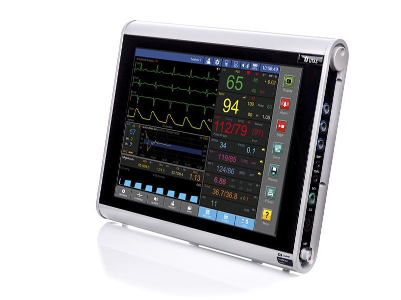 """Compact multi-parameter monitor / anesthesia / with touchscreen UM-300-15"""" UTAS"""