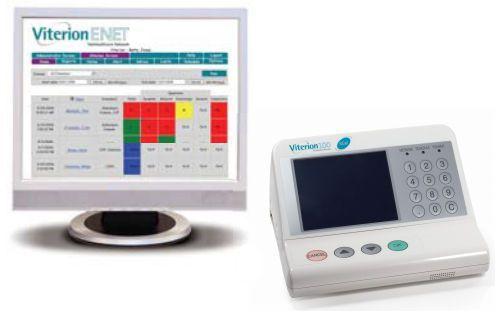 Vital sign telemonitoring system / with screen Viterion® 100 Viterion