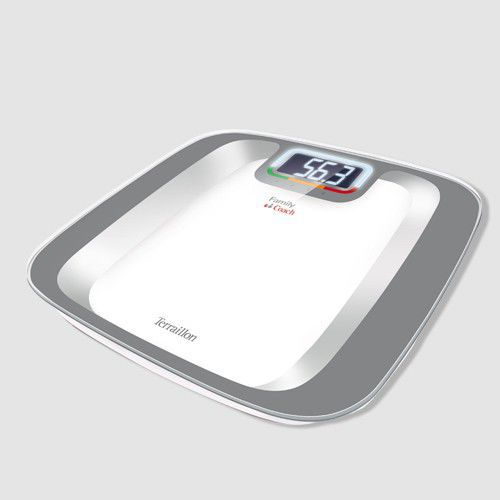 Home patient weighing scale / electronic / with BMI calculation 160 kg   Family Coach Color Terraillon