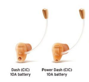 Completely hearing aid in the canal (CIC) Dash series Interton