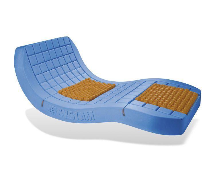 Anti-decubitus mattress / for hospital beds / visco-elastic / foam P161MOR / VISCOFLEX® AIR SYST'AM