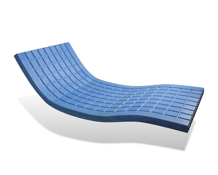 Hospital bed overlay mattress / anti-decubitus / visco-elastic / foam P161MS / VISCOFLEX® OVERLAY SYST'AM