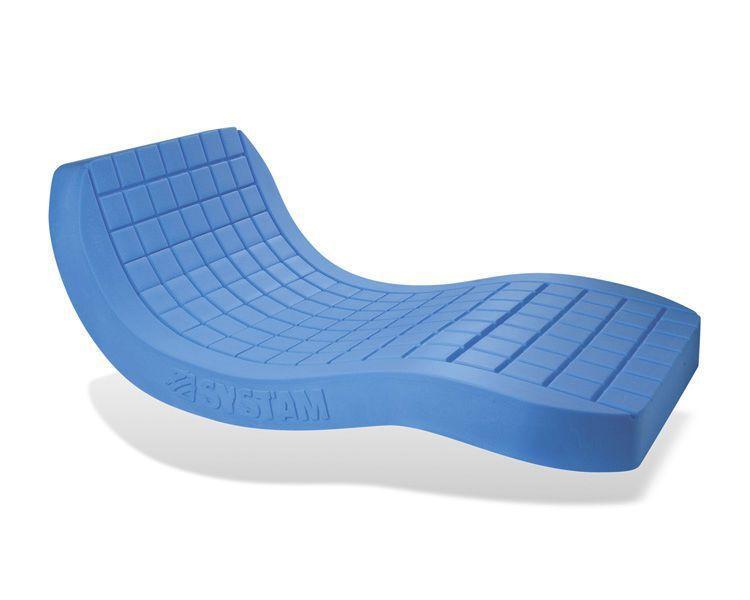Hospital bed mattress / anti-decubitus / visco-elastic / foam P161M / VISCOFLEX® SYST'AM
