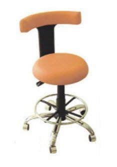 Dental stool / on casters / with backrest TEKMIL TIBBI ARAC VE GERECLER TIC. VE SAN. LTD. STI.