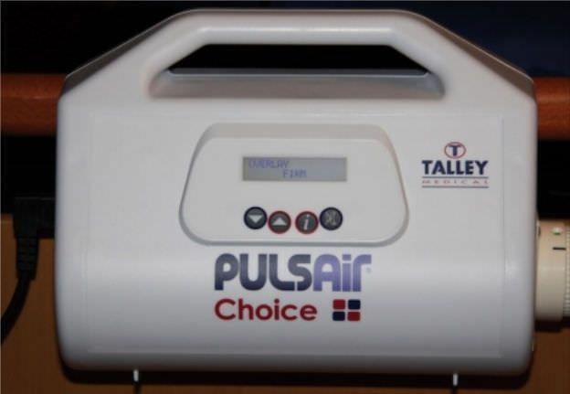 Hospital bed overlay mattress / anti-decubitus / dynamic air / tube PULSAIR CHOICE™ Talley