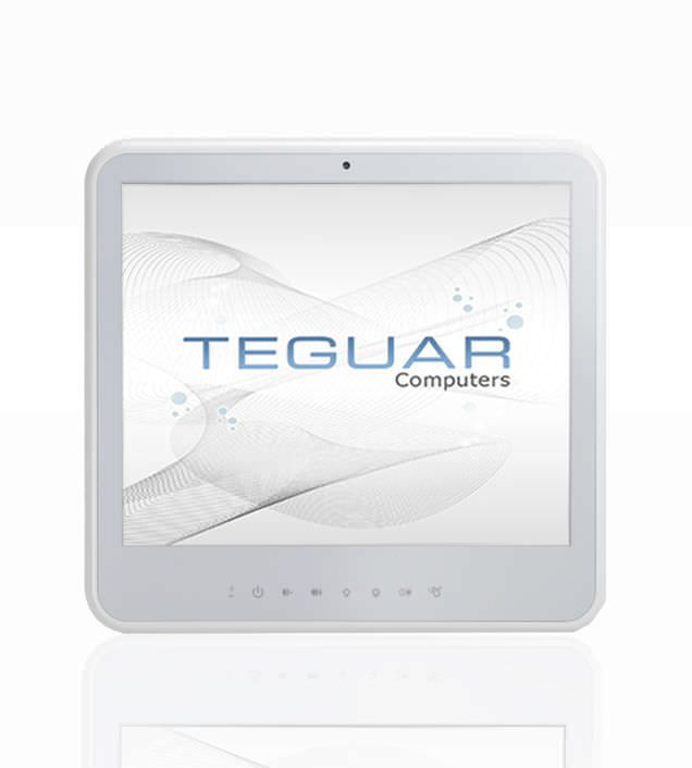 Antibacterial medical panel PC / fanless / with touchscreen Max. Core i7 Intel CPU   TM-3010-19 TEGUAR
