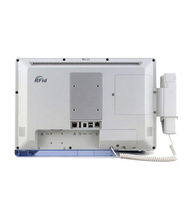 "Fanless patient infotainment terminal / antibacterial / with barcode scanner / waterproof 18.5"", Intel Celeron 1047UE   TME-2240-19 TEGUAR"