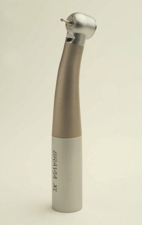 Dental turbine / titanium / autoclavable / with LED light BRAVIA XL   345000 rpm TEKNE DENTAL