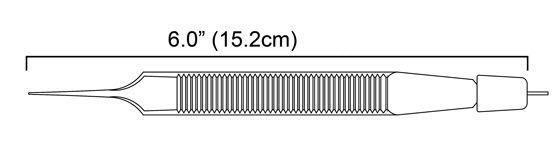 Bipolar forceps / bayonet / straight / titanium Malis Style Stingray Surgical Products