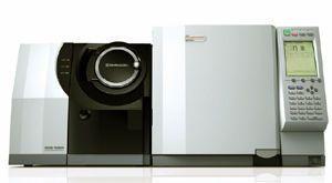 Gas chromatography system / coupled to a mass spectrometer / triple quadrupole GCMS-TQ8040 Shimadzu