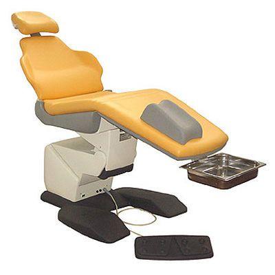 Podiatry examination chair / electromechanical / height-adjustable / 3-section Linda3 PODO TECNODENT
