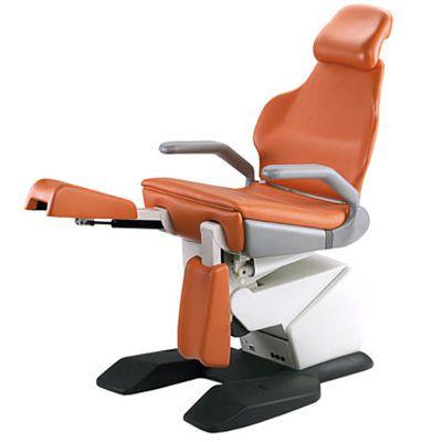 Podiatry examination chair / electromechanical / height-adjustable / 3-section Linda3 PODObis TECNODENT