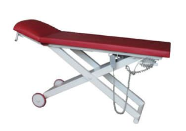 Electrical examination table / height-adjustable / on casters / 2-section SMP-EXM-E SMP CANADA