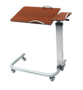 Overbed table / on casters / height-adjustable / reclining SMP-406M-OBT, SMP-407M-OBT SMP CANADA