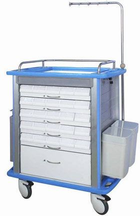 Medicine distribution trolley / with drawer SMP-850M SMP CANADA