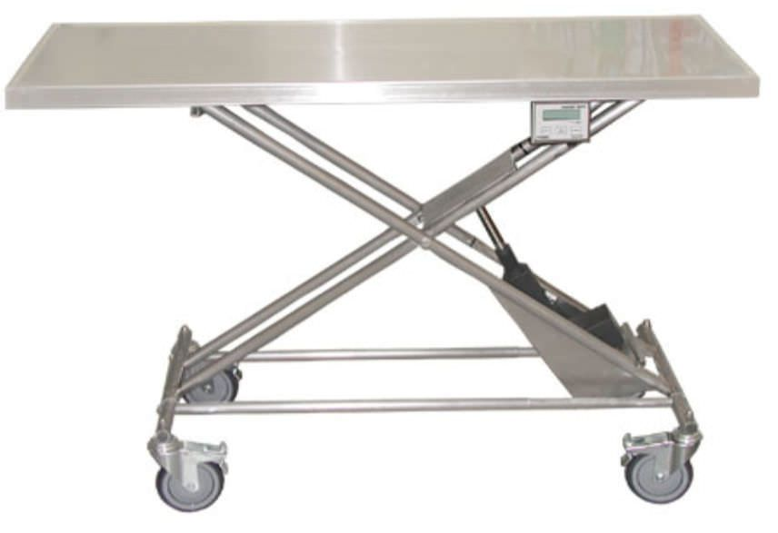 Electric veterinary transport table Technidyne