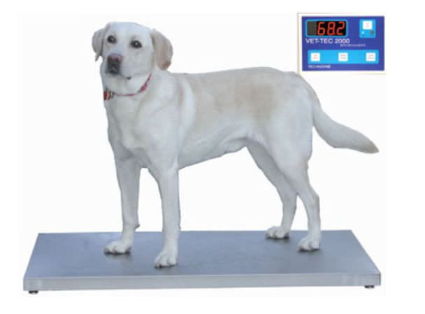 Veterinary platform scale / electronic VET-TEC 2000 Technidyne