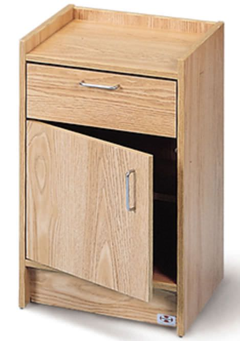 Bedside cabinet / for healthcare facilities 9018-20 Hausmann