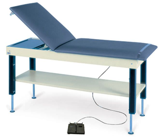 Hydraulic examination table / height-adjustable / 2-section 4707 Hi-Lo Hausmann