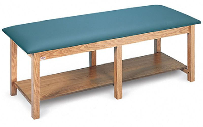 Bariatric examination table / fixed / 1-section 4086 Hausmann