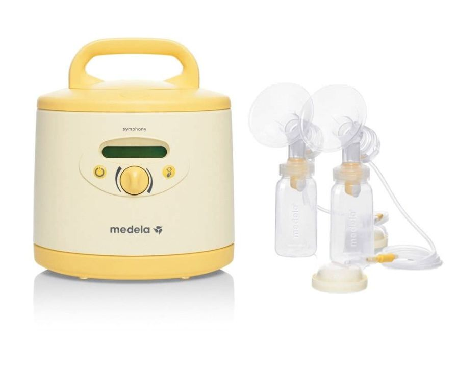 Electric breast pump / double / with rechargeable battery Symphony Rental Medela AG, Medical Technology