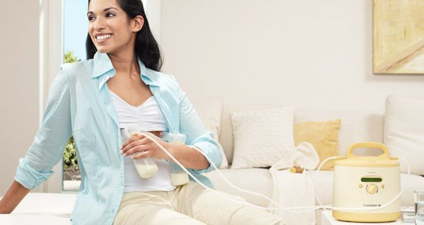 Electric breast pump / with rechargeable battery / double Symphony Medela AG, Medical Technology