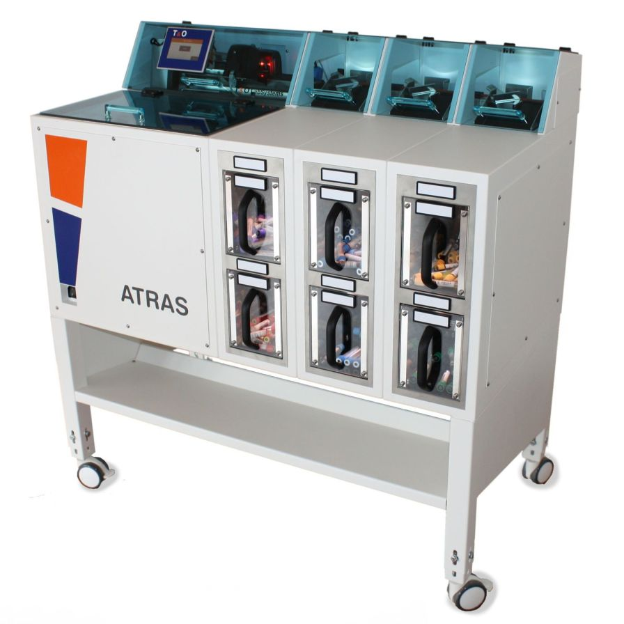 Sorting laboratory automatic system / for tube transfer ATRAS T&O LabSystems GmbH & Co.KG