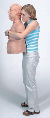 Heimlich maneuver training manikin / bariatric / torso 1630 Simulaids
