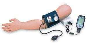 Blood pressure measurement training simulator 775 Simulaids