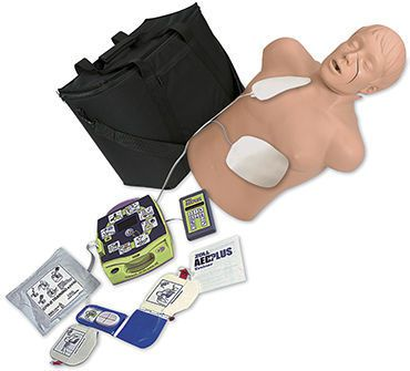 CPR training manikin / with automatic external defibrillator 2830 Simulaids