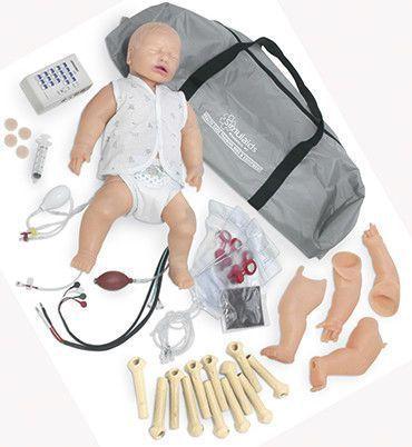 Intubation patient simulator / pneumothorax / care / baby STAT Baby Basic Simulaids